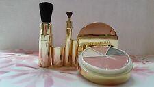 Estee Lauder Signature Pure Color EyeShadow Blush Ombre Paupieres Face Brush Set