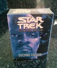 Star Trek  CCG's Second Edition Federation Preconstructed Starter Deck Sealed