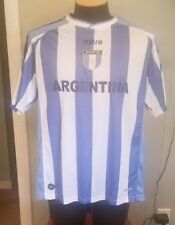 Argentina Soccer Jersey World Cup Adult Large Futbol Mitre