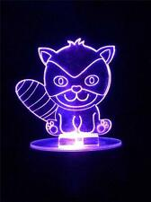 Raccoon Flashing Night Light - Small Novelty Gift for Kids