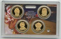 2008 Presidential Dollar Proof $1 Coin Set United States US Mint Box & COA