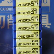 10pcs SUMITOMO APMT1604PDER-G08 ACP200 carbide inserts NEW