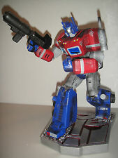 "PALISADES TRANSFORMERS: OPTIMUS PRIME 12"" STATUE MEGATRON toy Figurine Bust"