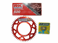 Honda CRF250 CRF250X RK CHAIN RENTHAL SUPERSPROX RED SPROCKET KIT