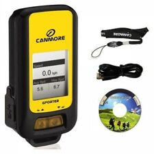 CANMORE GP102+ Portable GPS Data Logger USB Connection Yellow Japan Tracking
