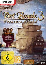 Port Royale 3 Treasure Island, Add On, NEU/OVP