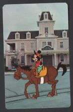 Swap Playing Cards 1 Japanese 1960's Disney Mickey Mouse Horse 3/4 Size A111