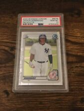 Bowman 2020 New York Yankees Jasson Dominguez Chrome Prospects *PSA 10 GEM MINT*