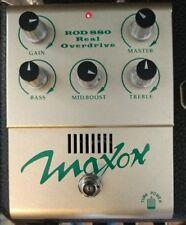 Maxon ROD 880 tube valve overdrive distortion 12ax7,(Ibanez tk999) intr'n ship.