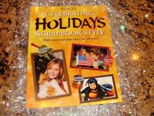 """Memory Makers"" New! Celebrating Holidays Scrapbook Instruction Book - Ideas!"