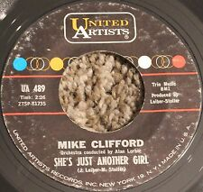 Mike Clifford She's Just Another Girl b/w Close to Cathy United Artists UA 489