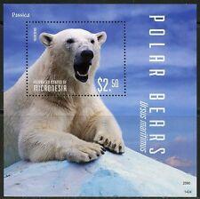 MICRONESIA 2014  POLAR BEARS SOUVENIR SHEET  MINT NH