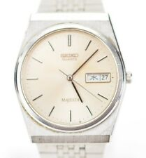 Vintage Seiko Majesta Quartz Silver Face Day Date JDM Watch 9063-6000 D895/21.2