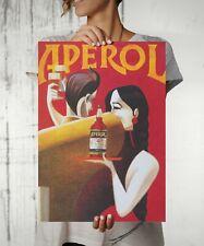 Aperol Retro Vintage Wall Art Print. Great Home/Shop Decor Large Size