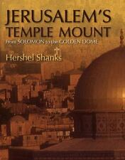 1st Jerusalem's Temple Mount From Solomon to the Golden Dome H Shanks HCDJ NEW