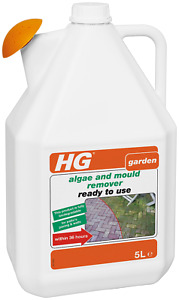 HG Algae and Mould Remover 5L - Ready to use - For Patio's, Paving and Walls