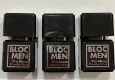 BLOC MEN PRE SHAVE POWDER STICK 3 PEZZI