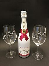 MOET Chandon Ice Imperial Rose Champagne 0,75l 12% vol + 2 ICE bicchieri di vetro
