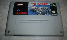 Dirt Racer Pal Super Nintendo Nes Chip FX carreras 4x4 Stunt Race Wildtrax
