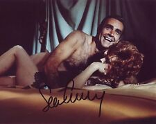 SEAN CONNERY SIGNED 8X10 PHOTOGRAPH