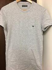 Emporio Armani Round Neck Grey Short Sleeve T Shirt XXL 64659