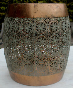 Moroccan Style   Aged Side Table    BRAND NEW
