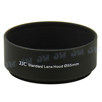 JJC 55mm Metal Lens Hood For Canon Nikon Panasonic Olympus Sony Pentax Camera