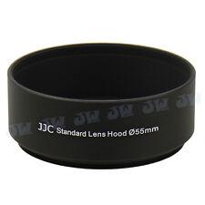 JJC 55mm Metal Lens Hood For Canon Nikon Panasonic Olympus Sony Pentax Camera
