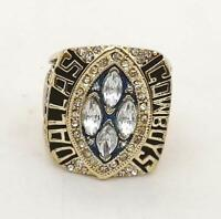 1993 DALLAS COWBOYS Super Bowl Championship Ring 18k GOLD PLATED Size 11 **USA**