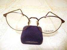 Vintage Eyeglass Sunglass Frames Daniel Hunter Phd Antique Eggplant Nos Lot 234