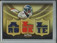 Knowshon Moreno 2010 Topps Triple Threads Game Used Jersey #4/9
