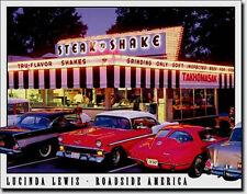 * Chevy American Vintage Car Poster Automotive Corvette Diner Schild 593*