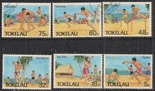 Tokelau 1987 QE2 set Olympic sports used ( 929 )
