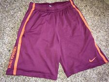 NEW Nike Virginia Tech Hokies Mens Maroon Athletic Mesh Shorts *4XL*