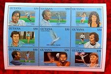 Guyana Stamps S/S Sheet of 9 $50 Each Pieces
