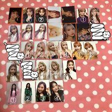 IZ*ONE IZONE BLoomiz photocards minicards