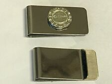 Poker Chip TG254 Fine English Pewter on a Money Clip Chrome