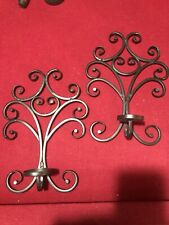 "Candle Wall Sconces 14""X10"""