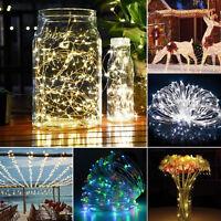 20M 200LED Solar String Lights Christmas Wedding Party Decoration Fairy Lights