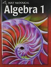 Holt McDougal Algebra 1 by Burger