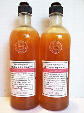 Bath Body Works Aromatherapy YLANG ROSE Body Wash, 10 oz., NEW x 2
