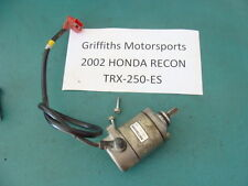 02 01 99 03 98 HONDA RECON 250 TRX250 ES ELECTRIC STARTER MOTOR CABLE OEM 04 05