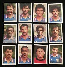 LOTE 12 CROMOS SELECCION KUWAIT MUNDIAL 82 ESPAÑA 1982 ED.FHER WORLD CUP 1982