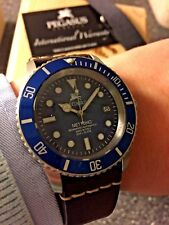 Pegasus Nettuno Aged In Italy Automatic Dive Watch