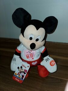 B03- Disney 13in Mickey Mouse Play Let Me Call You Sweetheart Animated Music toy