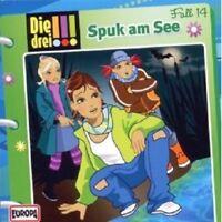 "DIE DREI !!! ""SPUK AM SEE (FOLGE 14)"" CD HÖRBUCH NEU"