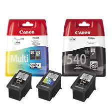 2x Canon PG540 Black & 1x CL541 Colour Ink Cartridge For PIXMA MX455 Printer