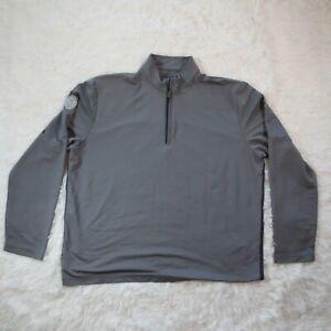 Callaway Weather Series Adult XXL 1/4 Zip Pullover Shirt Gray Men's Golfer