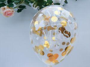 Rose Gold Confetti Balloons Best Day Ever Mr Mrs Happy Retirement Birthday 30 21