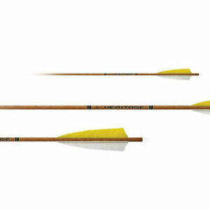 Special Offer - 6 x Carbon Express Factory Fletched Heritage Arrows- inc Points